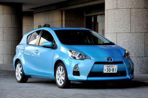 Отчет о тест-драйве Toyota Aqua (Prius C)