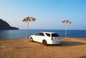 Поездка в Крым на мыс Меганом на Toyota Mark II Wagon Blit