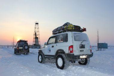 Экспедиция «Югра—Таймыр 2012»: Нижневартовск—Норильск и обратно на Toyota Land Cruiser 80 и ТагАЗ Tager