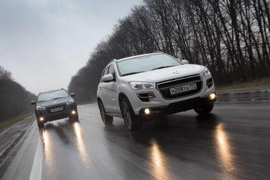 Тест-драйв Peugeot4008 отDrom.ru. Клон
