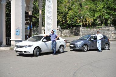 Поездка в Абхазию из Новороссийска на KIA Cerato и Citroen C3