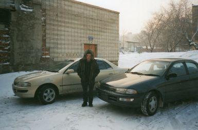 Перегон Toyota Carina Находка—Новосибирск (1999 г.)
