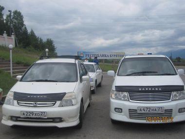 Путешествие из Хабаровска к Байкалу на Nissan Bassara