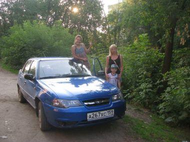 Путешествие: Воткинск—Кабардинка—Пермь на Daewoo Nexia