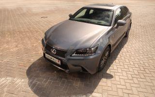 Тест-драйв Lexus GS450h FSport отDrom.ru. Новый вождь