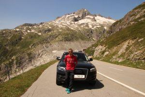 Свадебное путешествие по Европе на Audi Q5