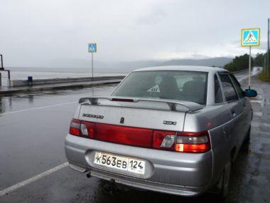 Из Красноярска на Байкал на ВАЗ-21101