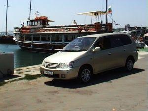 Путешествие в Болгарию на Toyota Gaia