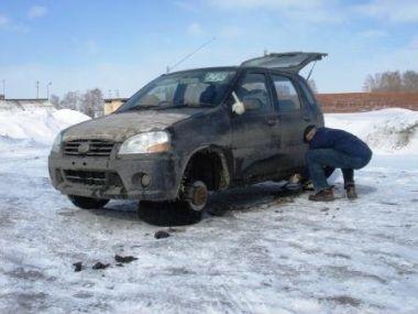 На Suzuki Swift из Приморья до столицы России (март 2007 г.)