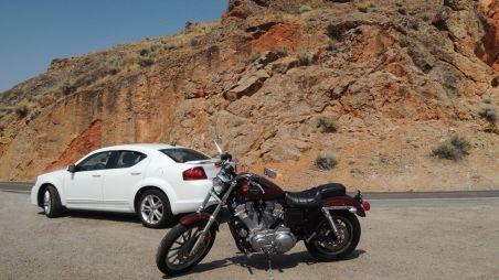 На Harley-Davidson Sportster и Dodge Avendger по национальным паркам и заповедникам запада США. Часть 1. Harley-Davidson