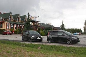 Россия—Италия надвух MitsubishiColtRalliart