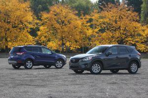 Ford Escape против Mazda CX-5. Сводныебратья