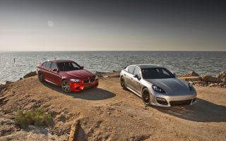 Сравнительный тест-драйв: BMW M5 против Porsche Panamera GTS