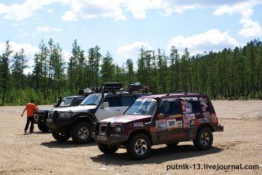 Поездка на 6-й всероссийский внедорожный фестиваль, или Экспедиция поБАМу в2012году