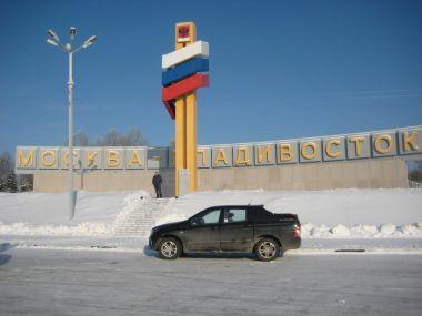 Зимний перегон SsangYong KorandoSports изВладивостока вИжевск (2012год)