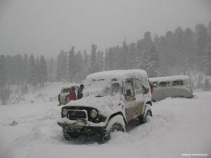 Белое безумие. Снежная поездка на Караколы-2012