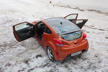 Тест-драйв Hyundai Veloster. Внутреннее противоречие