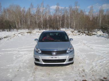 Перегон Владивосток—Кемерово на Honda Airwave (март 2013 г.)