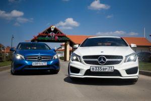 Mercedes-Benz А и CLA. Золотая молодежь