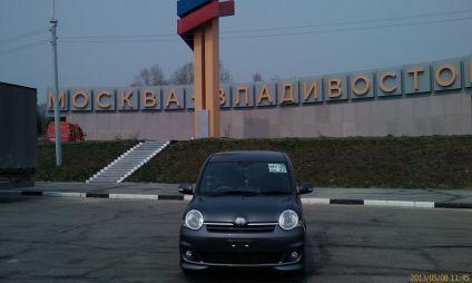 Перегон Toyota Sienta из Владивостока в Новосибирск за 90 часов