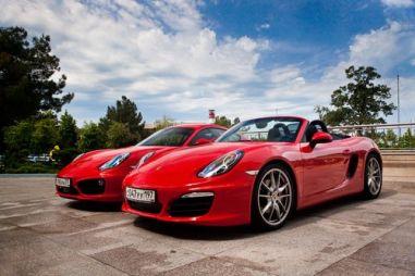 Тест-драйв нового поколения Porsche Cayman S. Держит дорогу как Бог