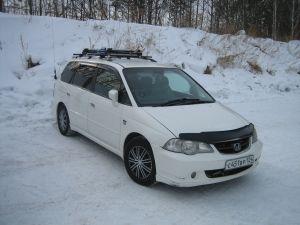 В горы на Honda Odyssey