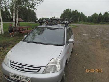 Из Красноярска на Алтай и в Казахстан с отдыхом на море на Honda Stream в августе 2012 года