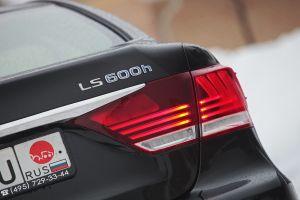Обзор Lexus LS600h FSport. БольшойСпорт