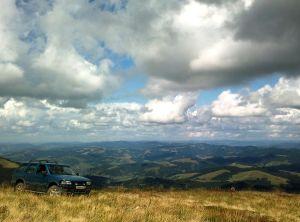 Знакомство с Закарпатьем на Opel Frontera, август 2011 года