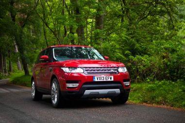 Тест-драйв вседорожного Range Rover Sport. На воде, в грязи и по асфальту