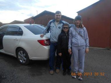 Мариинск—Геленджик на Chevrolet Epica