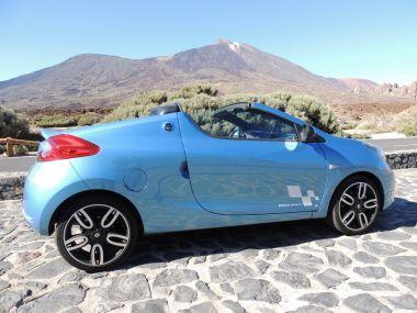 По Тенерифе на Renault Wind Roadster Cabrio