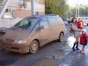 Приключения по маршруту Самара – Атырау (Гурьев), Казахстан на Toyota Estima Emina (октябрь 2004 г.)