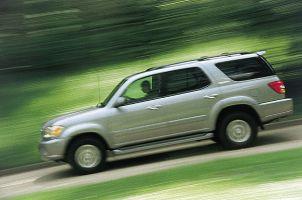 Вырастили... (Toyota Sequoia, 2001год)