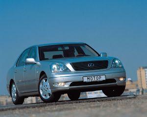 Братья Lexus (Lexus LS430 и GS430, 2002 год)