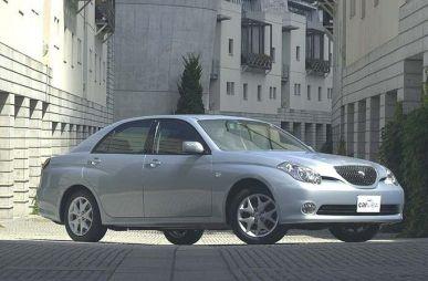 Обзор автомобиля Toyota Verossa, 2001