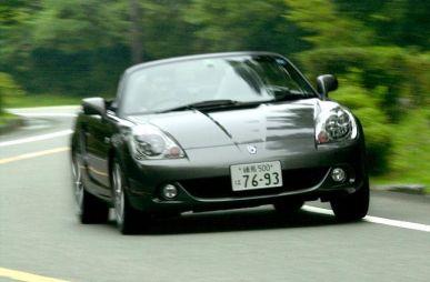 Обзор автомобиля Toyota MR-S, 2002