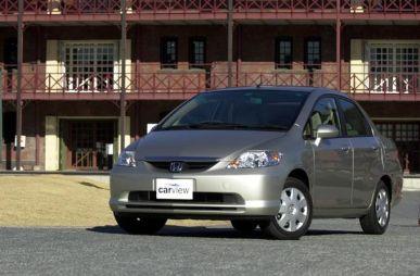 Обзор автомобиля Honda Fit Aria, 2002