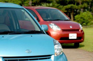Обзор автомобиля Daihatsu Boon, Toyota Passo, 2004