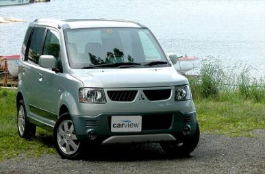 Обзор автомобиля Mitsubishi eK-Active, 2004