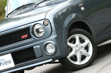 Обзор автомобиля Suzuki Lapin, 2003