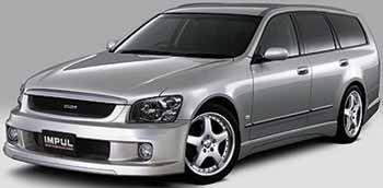 """Скоростной """"вагончик"""" (Nissan Stagea, 2001 год)"""