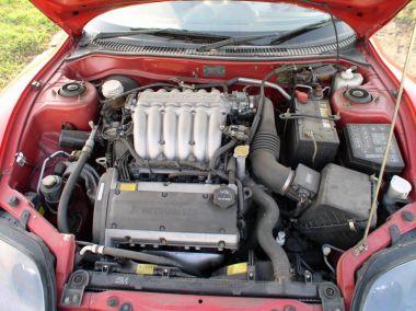 Красные в городе (Mitsubishi FTO)