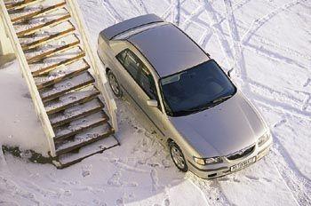 Птица удачи (Mazda 626, 1999 год)