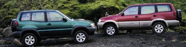 Неизвестная земля (Nissan Terrano II, 1999 год)
