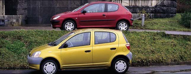 Выбор века (Toyota Yaris, Peugeot 206, 1999 год)