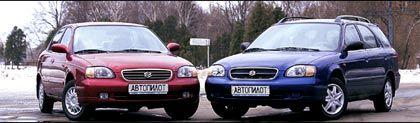 Обзор автомобиля Suzuki Baleno, 2000 год