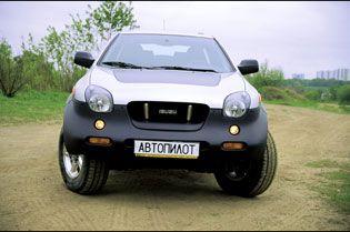 Как по паркету (Isuzu VehiCross, 2000 год)