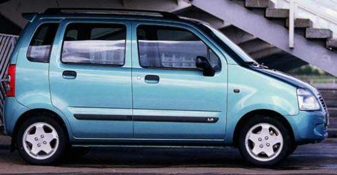 Вагончик тронется... (Suzuki Wagon R Plus, 2000 год)