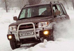 Королек дороги (Mitsubishi Pajero Pinin, 2001 год)